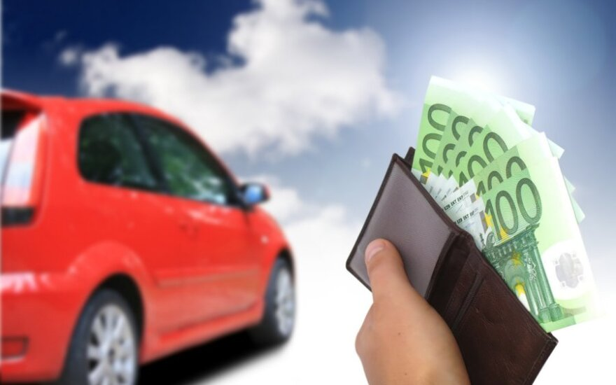 Automobilis, pinigai