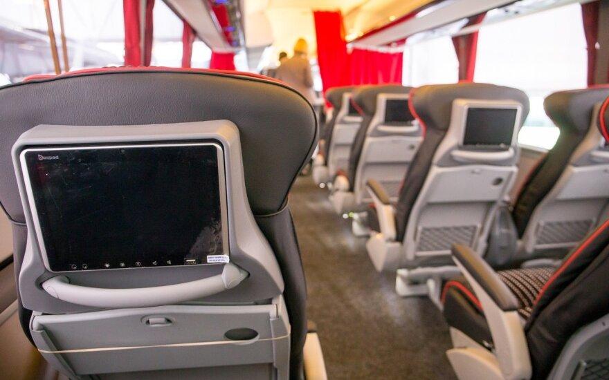 Skelbiama apie atnaujinamus autobusų maršrutus į Baltijos šalis ir Lenkiją