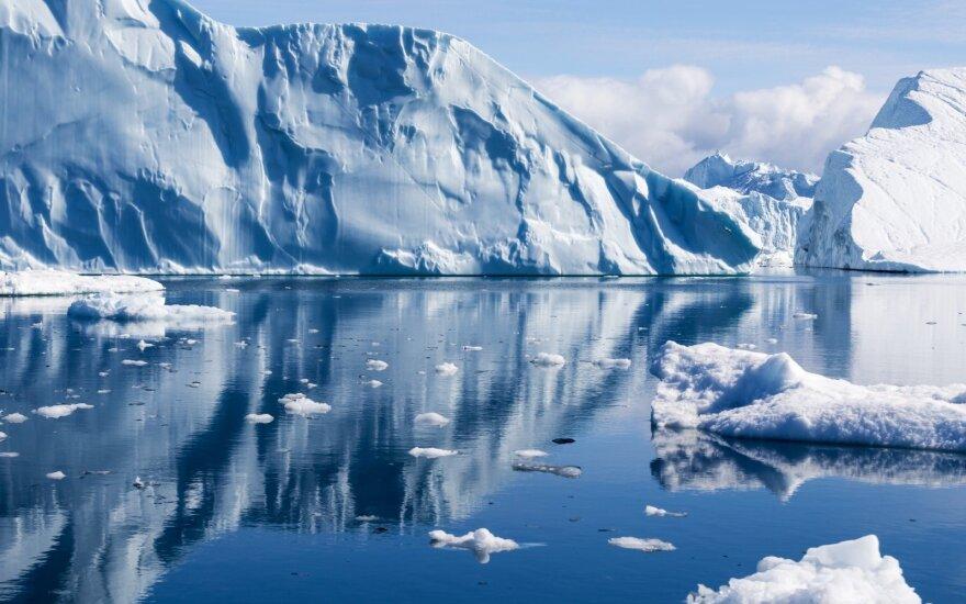 NASA išsiaiškino, kam tirpstantys ledynai kelia didžiausią grėsmę