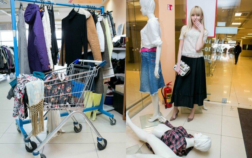 Eksperimentas dėvėtų rūbų parduotuvėje