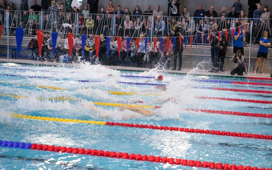 Jaunimo olimpinių žaidynių prizininkė: naujas baseinas geras, bet reikia didesnio