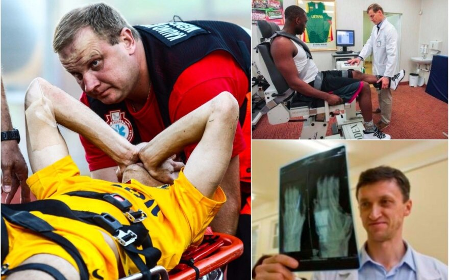 Traumą patyrusio sportininko likimas dažnai priklauso nuo gydytojų geranoriškumo, mat formaliai pirmenybės prieš kitus pacientus atletai neturi