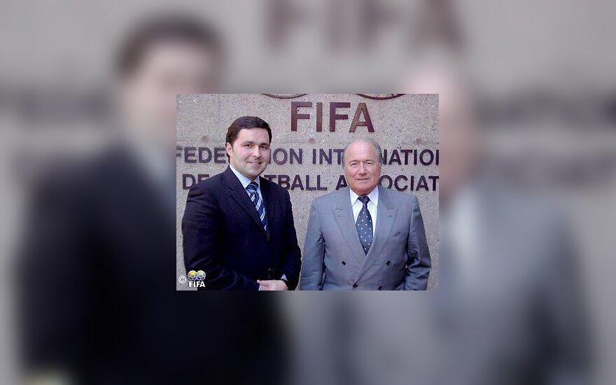 Liutauras Varanavičius, Joseph Blatter