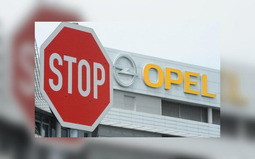 """Planuojama atleisti 1,2 tūkst. """"Opel"""" darbuotojų"""