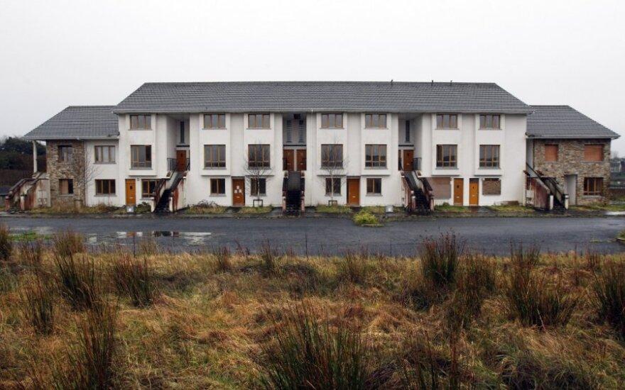 Apleisti namai Airijoje