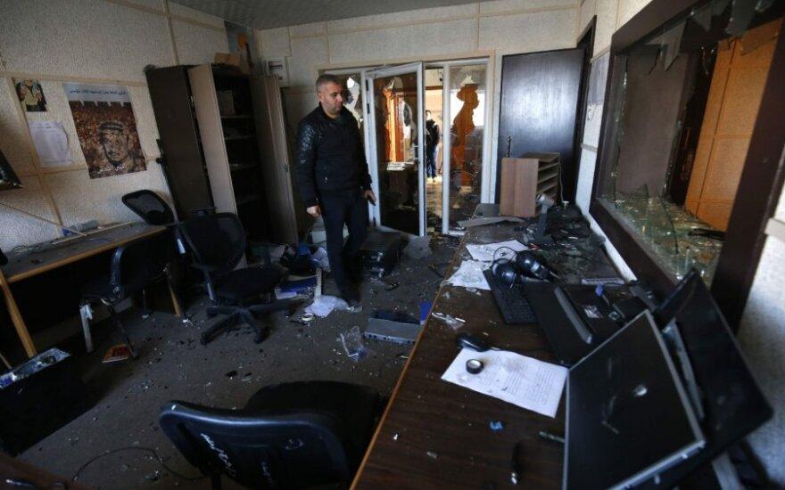 Gazos Ruože užpultas Palestinos televizijos ir radijo kompanijos biuras