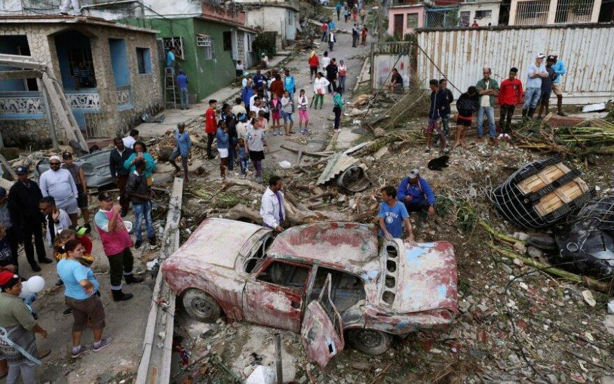 Havanoje viesulo aukų padaugėjo iki keturių, dar 200 buvo sužeisti