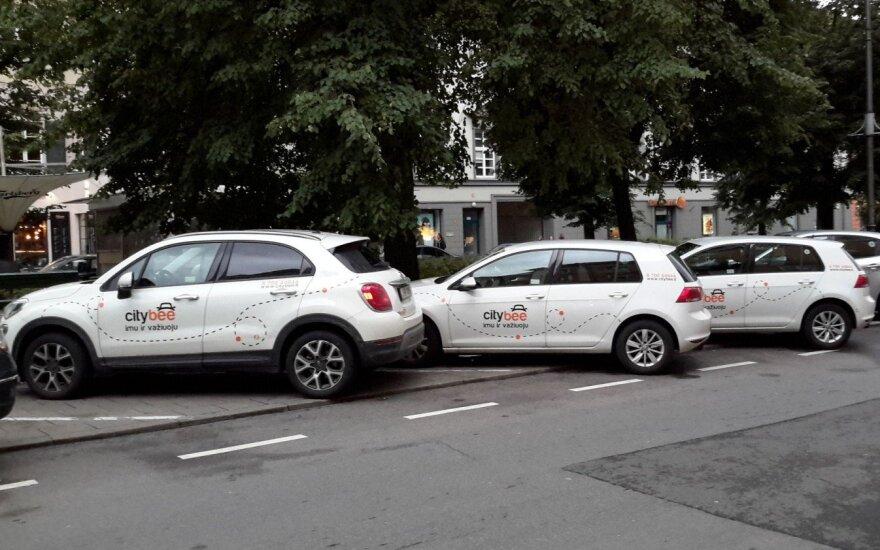 """Sunervino """"CityBee"""" automobiliai Vilniaus centre – ar jiems suteikiamos išskirtinės sąlygos?"""