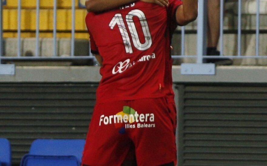 """""""Mallorca"""" futbolininkai džiaugiasi įvarčiu"""
