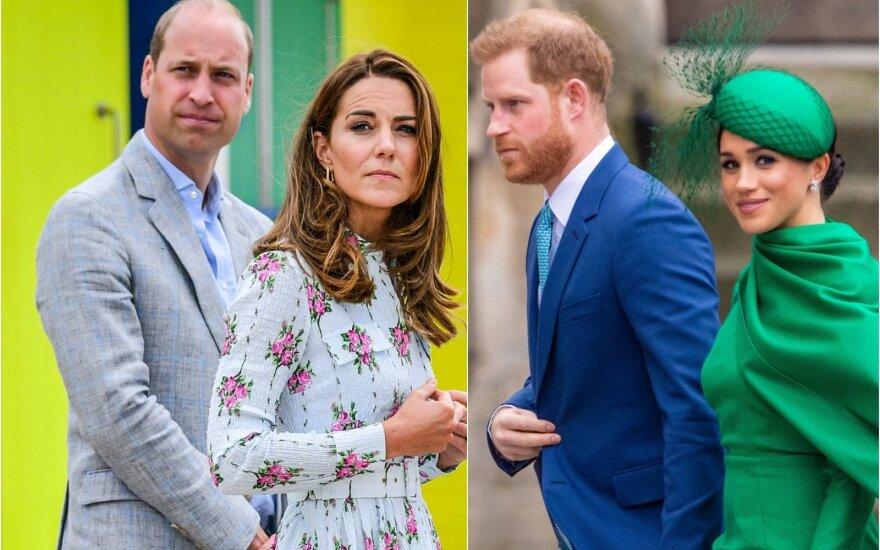 Princas Williamas, Kate Middleton, princas Harry ir Meghan Markle
