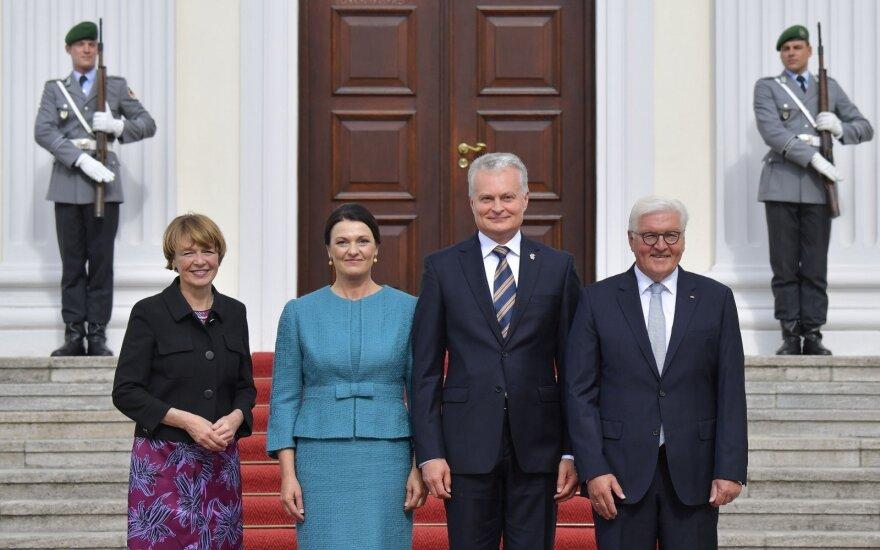 G.Nausėda susitiko su Vokietijos prezidentu