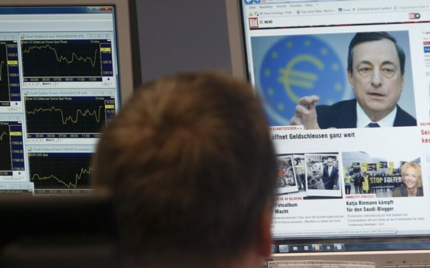 ECB vadovo Mario Draghi pranešimas