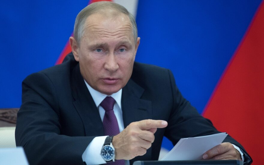 V. Putinas: pasauliui gresia katastrofa