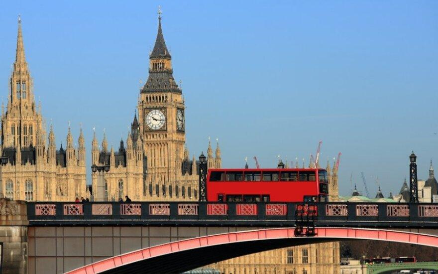 D. Britanijos centrinis bankas monetarinės politikos nekeičia