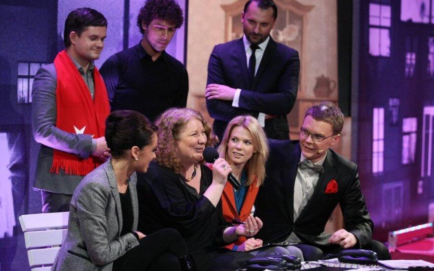 I.Stasiulevičiūtė, L.Kalpokaitė, A.Paškevičiūtė ir M.Stasiulis