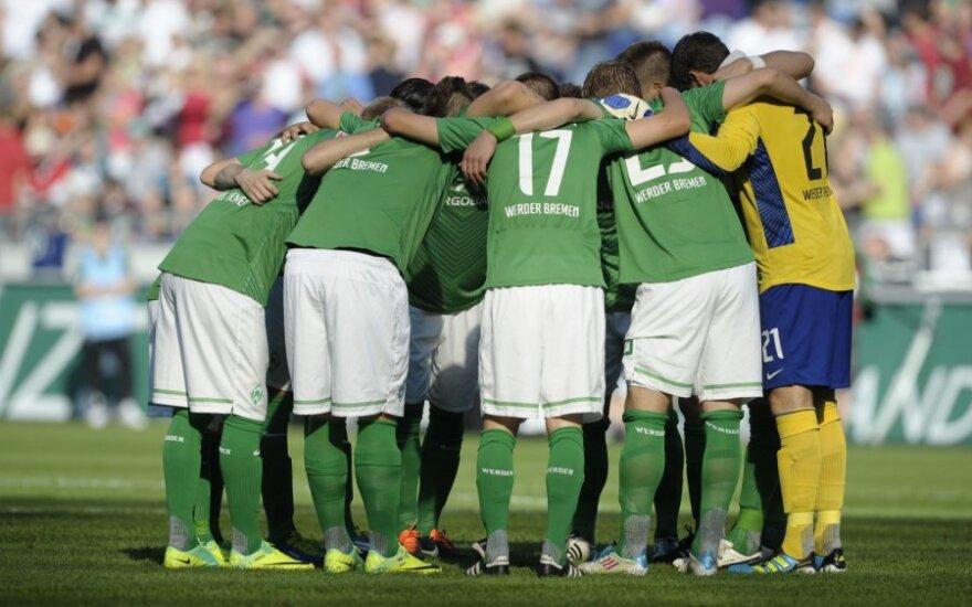 """""""Werder"""" klubo futbolininkai"""