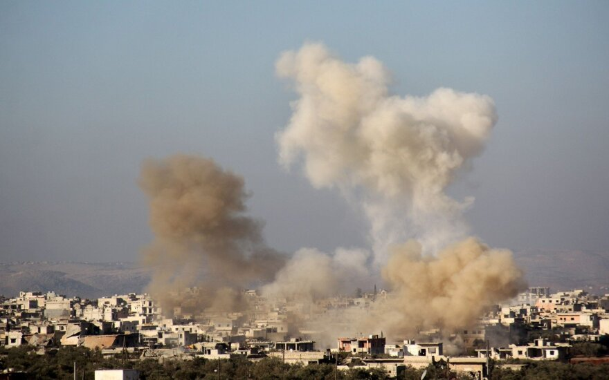 JAV įtaria Siriją rengiantis naujai cheminei atakai