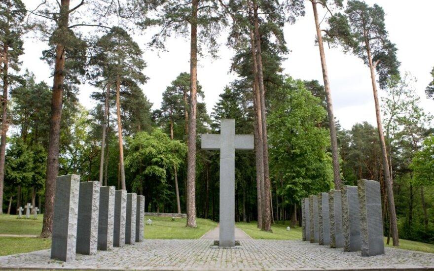 German soldiers' cemetery in Vingis Park