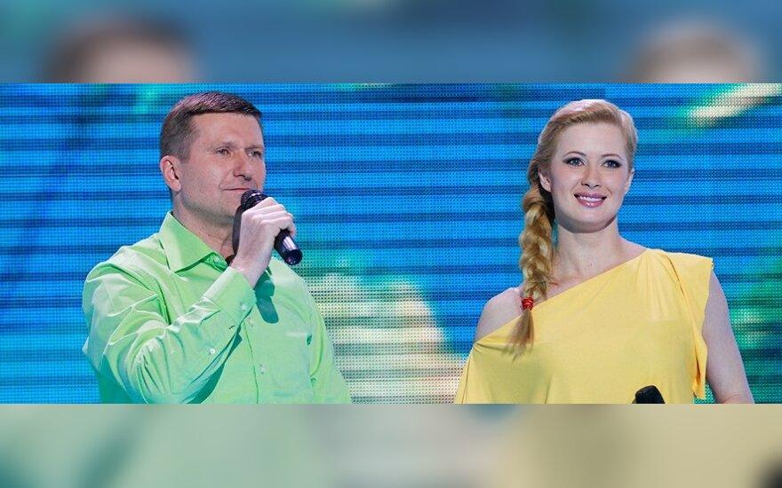 Dešinėje - Renata Voitechovskaja