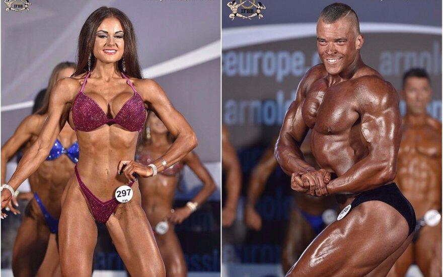 """""""Arnold Classic Europe"""" varžybose Lietuvai atstovavo penki sportininkai"""