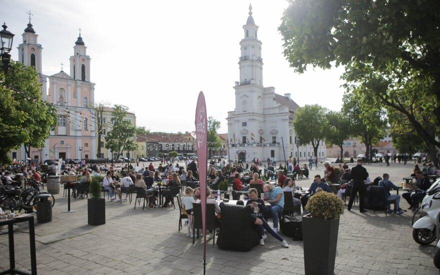 Neeilinis Kauno gimtadienis: staigmenos gyventojų laukė visame mieste