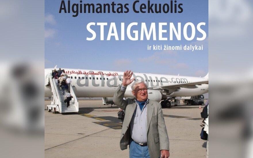Algimanto Čekuolio knygos viršelis