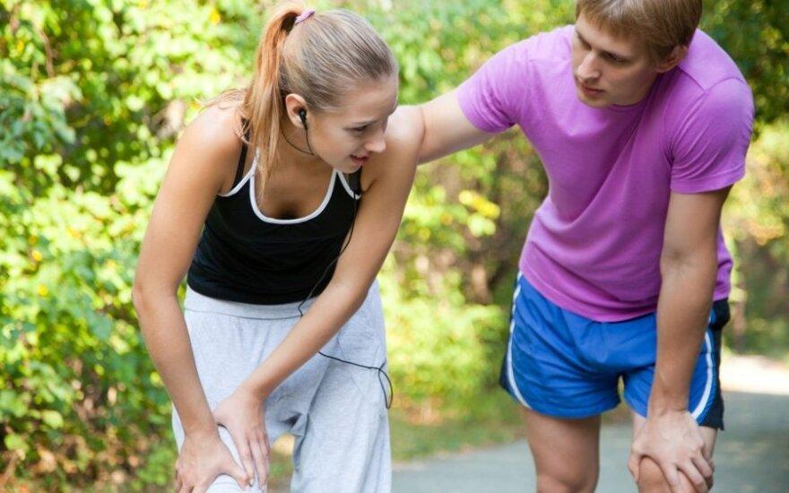Prie ko priveda netinkamas bėgimas: antkaulio uždegimo simptomai ir gydymo priemonės