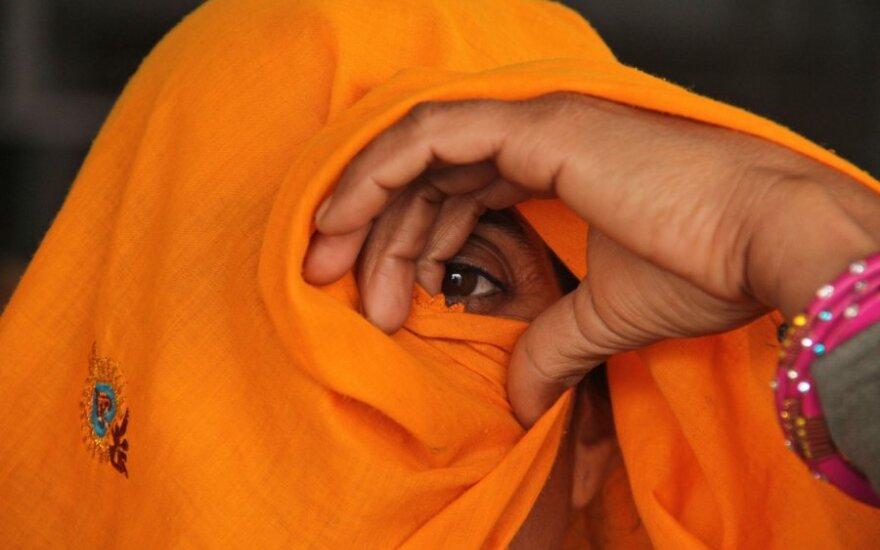 Indija, moteris