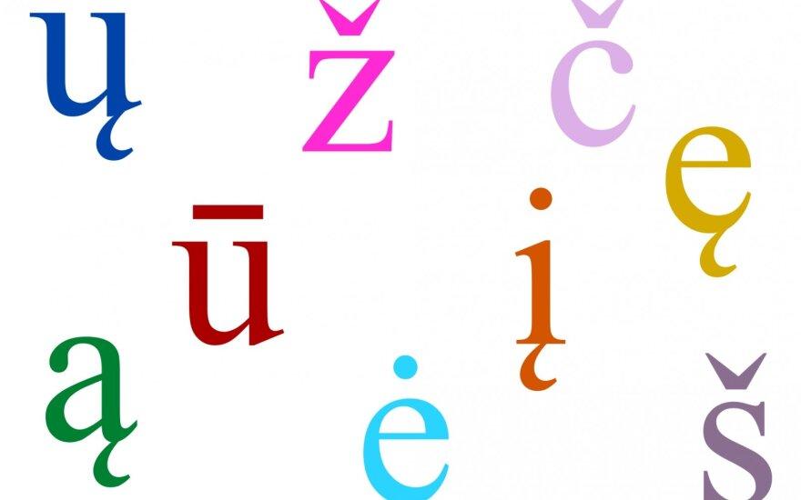 G. Subačius: analogų pasaulyje neturi vienintelė lietuviška raidė