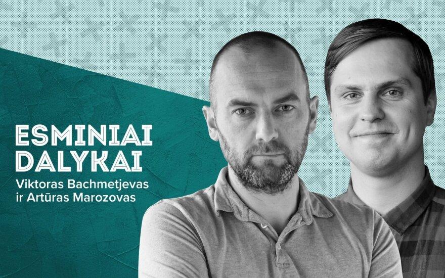 Viktoras Bachmetjevas ir Artūras Morozovas