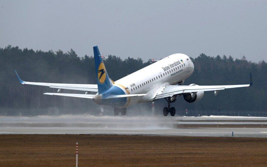 Ukraina uždraudė visus skrydžius į Rusiją