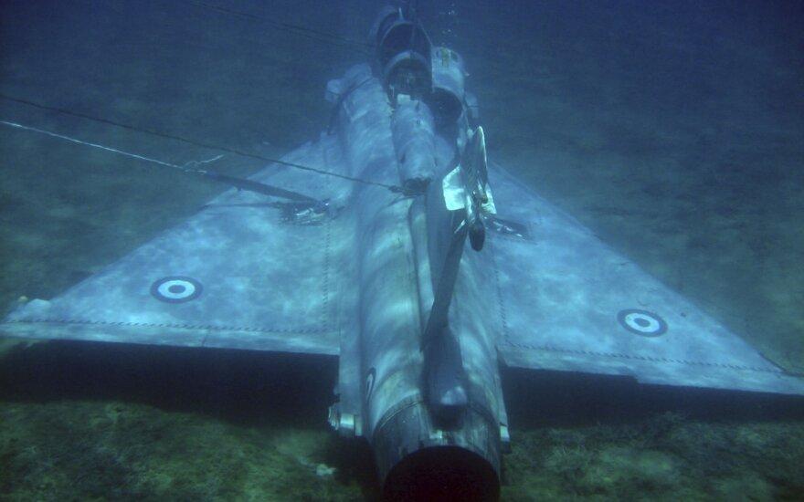 Egėjo jūroje surastas sudužusio Graikijos naikintuvo piloto kūnas