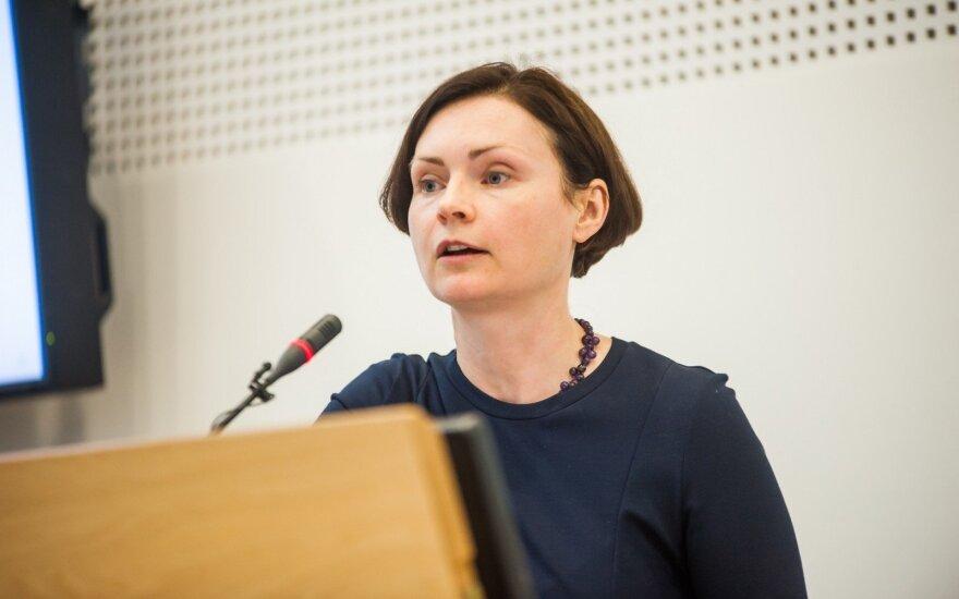 VDU Mokslo prorektorė prof. J. Kiršienė
