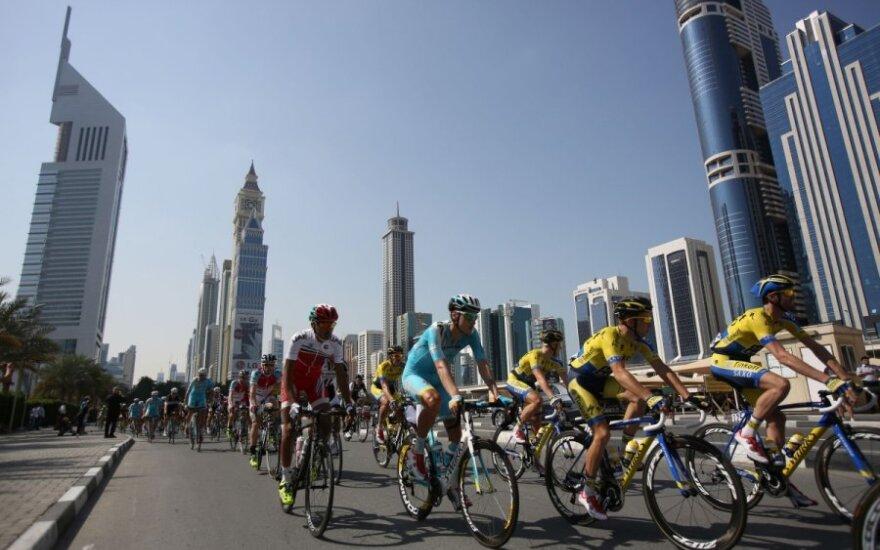 """""""Dubai Tour"""" dviratininkų lenktynės"""