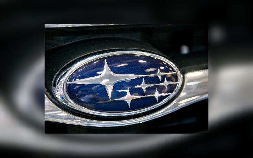 """""""Subaru"""" Ženevos parodai ruošia """"Impreza XV Crossover"""""""