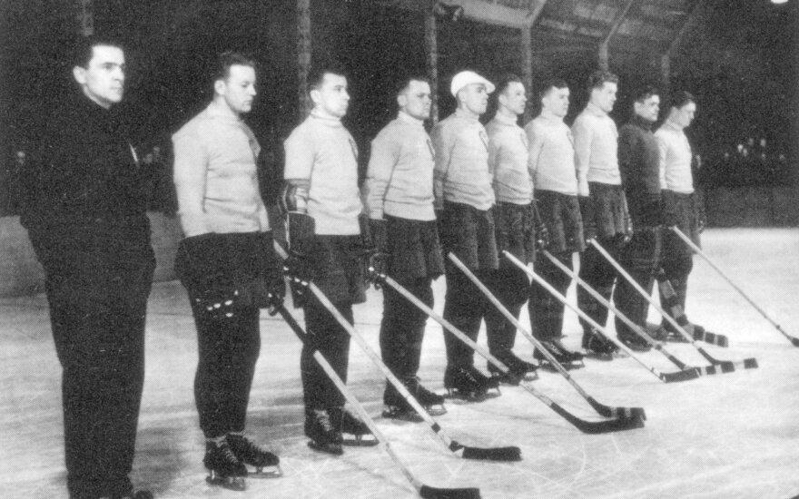 Lietuvos ledo ritulio rinktinė 1938 metais