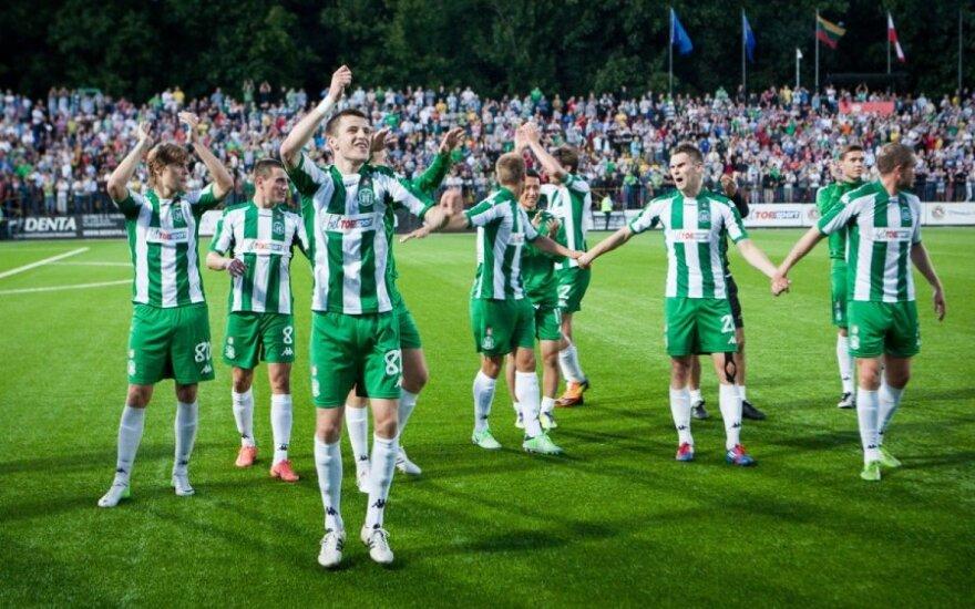 """""""Žalgirio"""" futbolininkams sužibo viltis rungtyniauti Europos lygoje"""