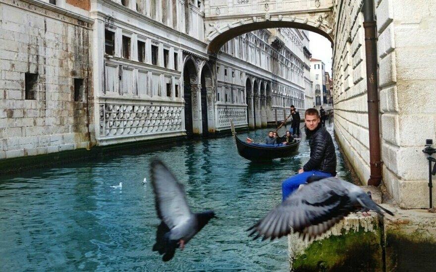 J. Laukaitis Venecijoje