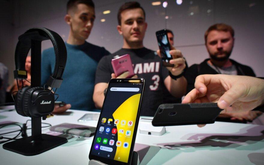 Yandex telefonas