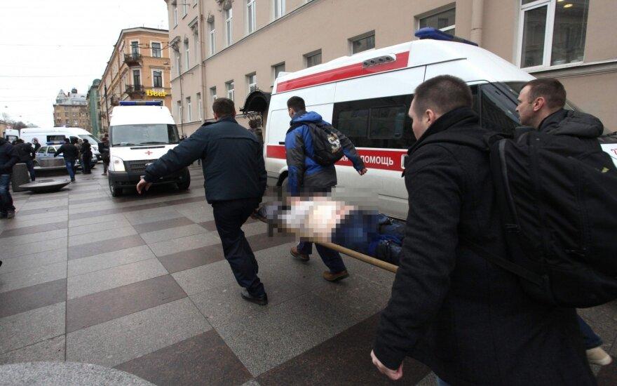 Po teroro Sankt Peterburge – kraupūs pasakojimai: išdužo visi langai, telkšojo kraujo balos
