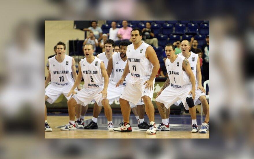 N. Zelandijos krepšinio rinktinė
