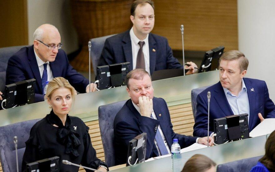"""G. Kildišienės skandalas atsiliepė ir """"valstiečių"""", ir paties R. Karbauskio reitingams"""