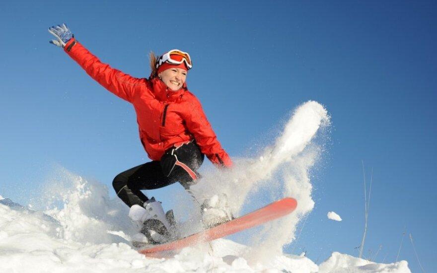 Šveicarijoje pristatytos naujausios slidinėjimo tendencijos: pasiūlymai pritrenkia