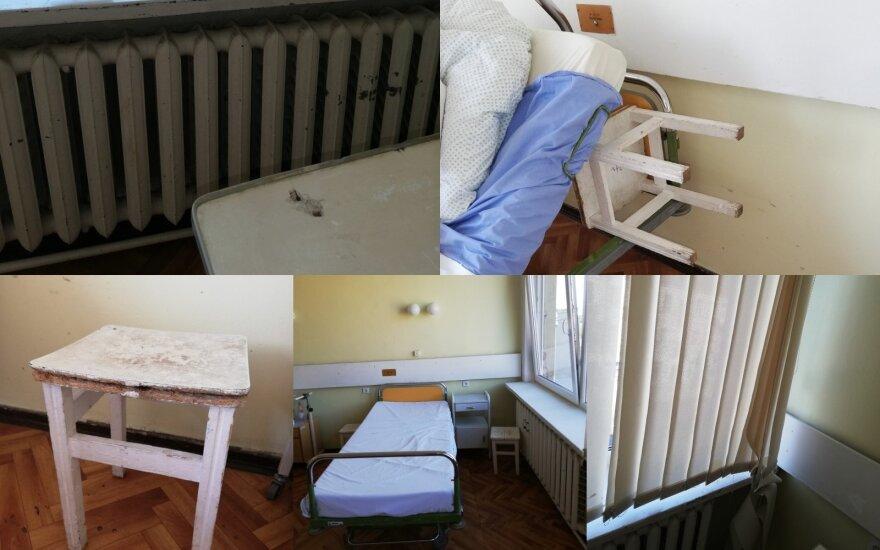 Nuvykusi aplankyti tėvo į ligoninę nustėro – sąlygos palatoje kėlė siaubą