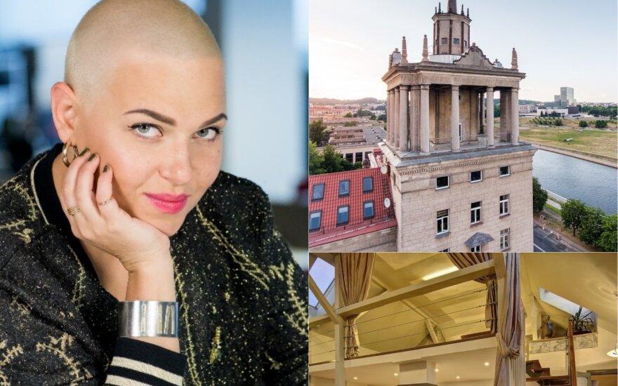 Justė Arlauskaitė-Jazzu parduoda savo prabangius apartamentus