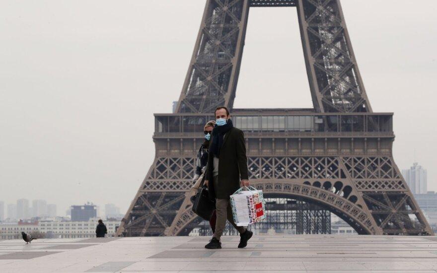 Prancūzijoje skelbiamas karantinas