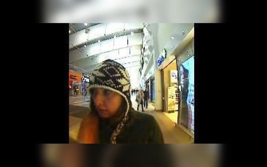 Kauno policija prašo atpažinti moterį
