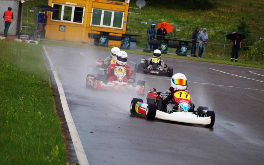 """""""Rotax Nordic"""" čempionatas Aukštadvaryje"""