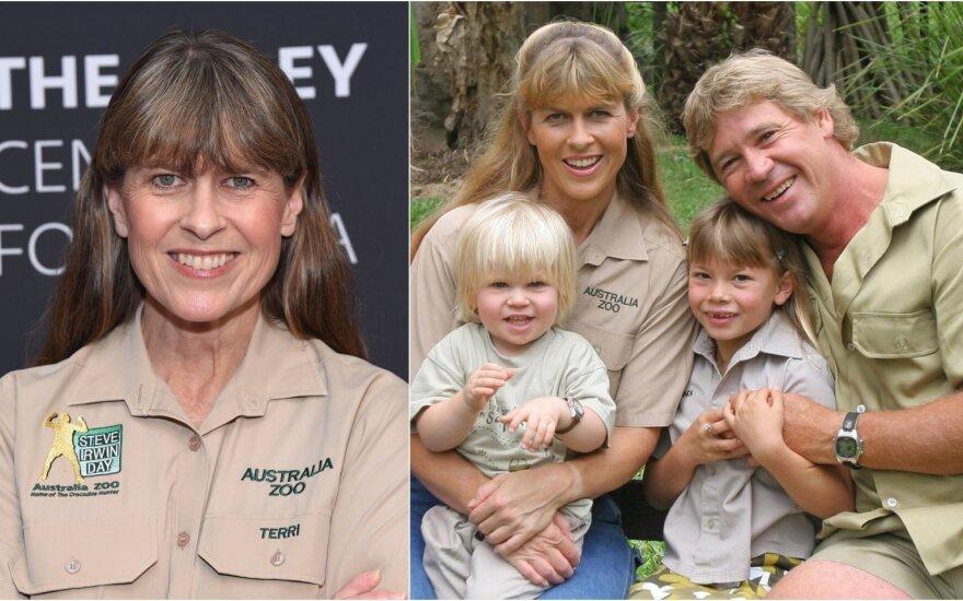 Terri Irwin su šeima