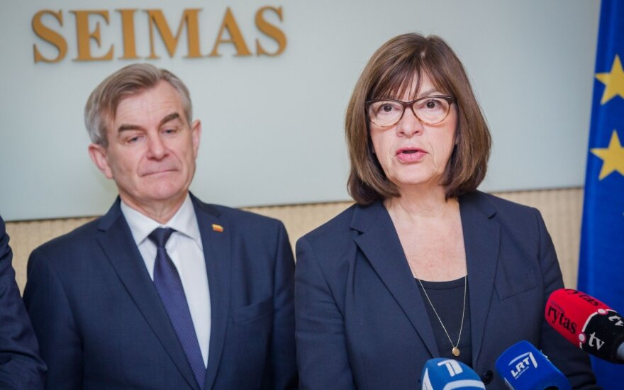 Viktoras Pranckietis, Rebecca Harms